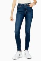 Topshop Rich Blue Jamie Skinny Jeans
