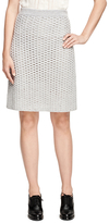 Brooks Brothers Cashmere A-Line Skirt
