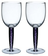 Denby Amethyst Red Wine Glass, 0.3L - Pack of 2
