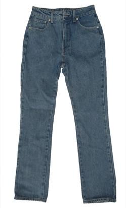 Chiara Ferragni Blue Cotton Jeans