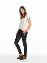 Scotch & Soda Lace-Up Leather Trousers