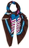 Hermes Quadrige Silk Jersey Scarf