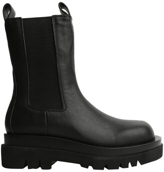 Tony Bianco Boxer Black Como Ankle Boots