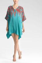 Josie Natori Couture Ikat Caftan