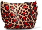 Jimmy Choo Anabel leopard-print calf hair shoulder bag