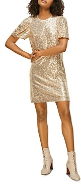 Whistles Sequin Shift Dress