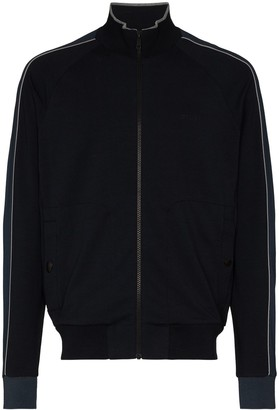 Ermenegildo Zegna Zip-Up High-Neck Jacket