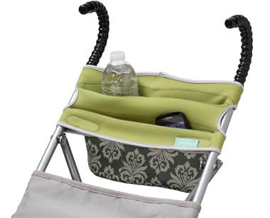 Infantino Stretch Umbrella Stroller Storage - Shabby Chic
