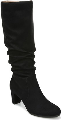 LifeStride Wide-Calf Slouch High-Shaft Boots -Maltese WC