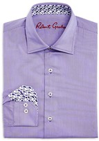 Robert Graham Boys' Thin Stripe Button-Down Dress Shirt - Sizes S-XL