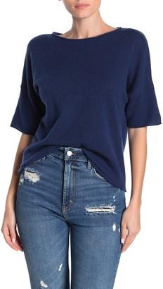 360 Cashmere Matilda Elbow Sleeve Cashmere Sweater