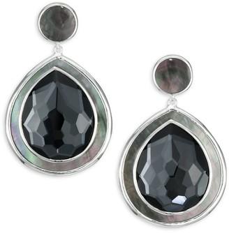 Ippolita Polished Rock Candy Sterling Silver & Multi-Stone Drop Earrings