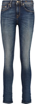 R 13 Alison cropped mid-rise skinny jeans