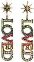 Gucci Gold Small 'Loved' Earrings
