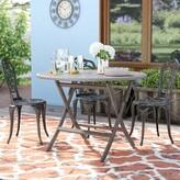 Safavieh Renard Wicker/Rattan Dining Table Color: Brown
