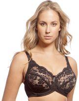 Lunaire Bra: London Full-Figure Full-Coverage Lace Bra 12711 - Women's