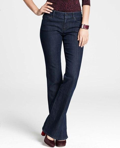 Ann Taylor Curvy Denim Boot Cut Jeans