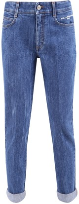 Stella McCartney Cropped Slim-Fit Jeans