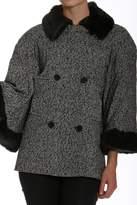 Members Only Tweed Bell-Sleeve Jacket