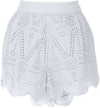 We Are Kindred Lola embroidered shorts
