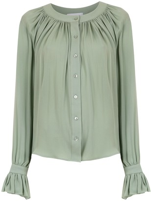 Olympiah silk Spinello shirt
