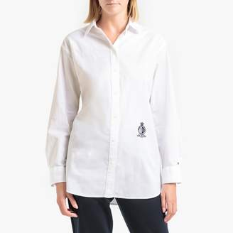 Tommy Hilfiger Cotton Oversize Shirt with Long Sleeves