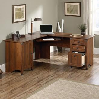 Sauder Carson Forge Corner Computer Desk