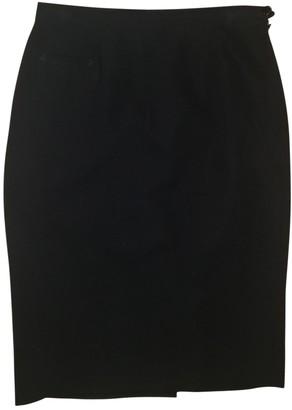 Ralph Lauren Blue Wool Skirt for Women