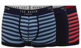 Ted Baker Multi-colour Pack Of Three Stripe Trunks