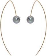 Pearls Before Swine Gold Tahitian Pearl Earrings