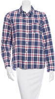 A.P.C. Plaid Long Sleeve Button Up