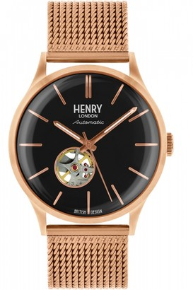 Mens Henry London Heritage Automatic Watch HL42-AM-0286
