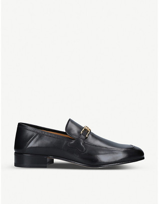 Gucci Phyllis horsebit-embellished leather loafers