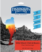 Backpackers Pantry Backpacker's Pantry Wild West Vegetarian Chili and Beans - 2 Servings