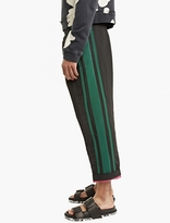 Haider Ackermann Black Dropped-crotch Trousers