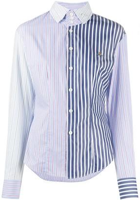 Vivienne Westwood Multi-Striped Long Sleeved Shirt