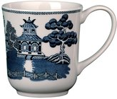 Wedgwood Johnson Brothers Willow Blue Dinnerware Coffee Mug