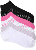 Steve Madden Women's Dots Women's No Show Socks - 6 Pack