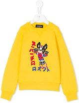 DSQUARED2 Bulldog print sweatshirt