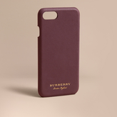Burberry Trench Leather iPhone 7 Case, Purple