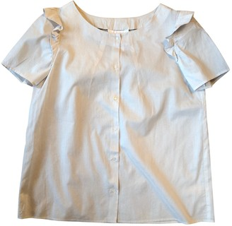 Chloé Grey Cotton Top for Women