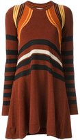 Paco Rabanne striped knit dress