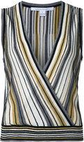 Diane von Furstenberg sleeveless lurex top - women - Silk/Cotton/Polyester/Viscose - M