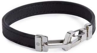 Montblanc Leather Carabiner Bracelet
