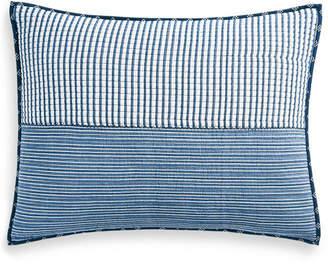 Martha Stewart Collection Nautical Stripe Standard Sham