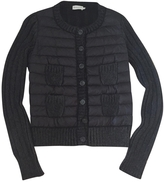Moncler Grey Wool Knitwear