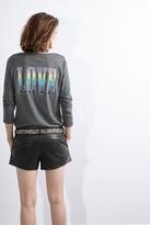 Zadig & Voltaire Ml Light Slub Henley T-Shirt