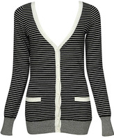 Calinda Striped Sweater Cardigan