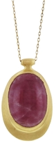 Ten Thousand Things Organic Pink Sapphire Pendant Necklace