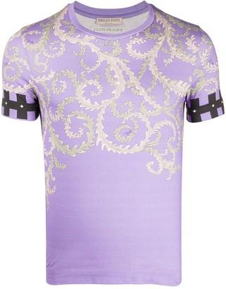 Emilio Pucci x Koche Selva pattern T-shirt